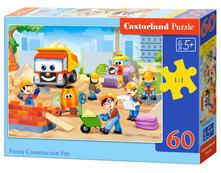 Castorland Funny Construction Site 60 pcs 60 pezzo(i)