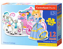 Castorland Princess Carriage 12 Maxi pcs Contour puzzle 12 pezzo(i)