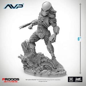 Alien Vs Predator. Jungle Hunter Statue 6 Inch