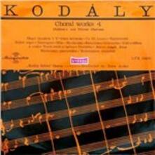 Choral Works vol.4 - Vinile LP di Zoltan Kodaly