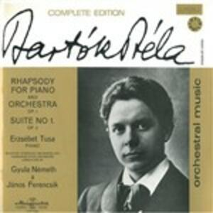 Rapsodia per Piano Op 1 Sz 27 - Vinile LP di Bela Bartok