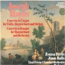 Concerto per violino e cembalo in Fa - Vinile LP di Franz Joseph Haydn