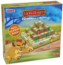 Tactic Lion Guard 3D Snakes & Ladders Game Gioco da tavolo da corsa Bambini. Gioco da tavolo