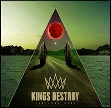 Fantasma nera (Limited Red & Gold Coloured Vinyl) - Vinile LP di Kings Destroy