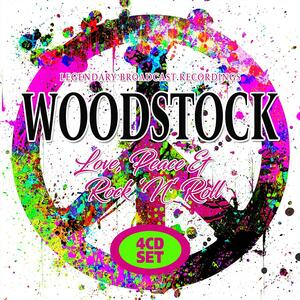 CD Woodstock. Love, Peace & Rock 'n' Roll
