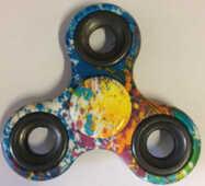 Giocattolo Fidget Spinner Super Twister Water Aerografo 2 Minuti Toys Garden