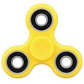 Giocattolo Fidget Spinner Super Twister Professional Giallo 4 Minuti Toys Garden