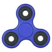 Giocattolo Fidget Spinner Super Twister Professional Blu 4 Minuti Toys Garden