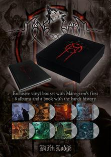 Manegarm 8 LP Boxset + Book (Box Set + libro) - Vinile LP di Manegarm