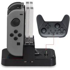 Videogiochi Console e accessori Base Charging Dock Ricarica Joy-Con E Pro Controller Per Nintendo Switch