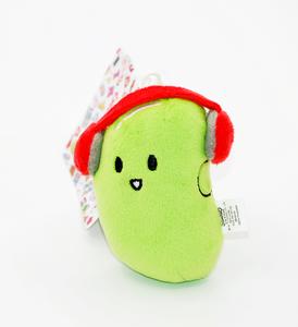 Idee regalo Portachiavi fagiolo in peluche La Pina I Love Toyko. Linea Hello Kitty Sanrio 0