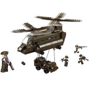 Sluban M38-B6600. Esercito. Elicottero Bielico Da Trasporto 370 Pz