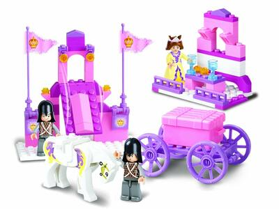 Sluban M38-B0250. Girl's Dream. La Carrozza Della Regina 137 Pz - 14