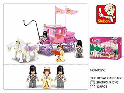 Sluban M38-B0250. Girl's Dream. La Carrozza Della Regina 137 Pz - 4