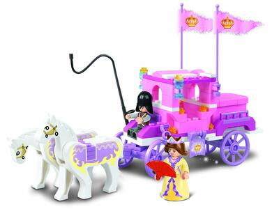 Sluban M38-B0250. Girl's Dream. La Carrozza Della Regina 137 Pz - 10