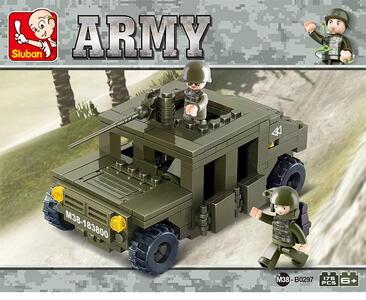 Sluban M38-B0296. Land Forces. Auto Corazzato (175Pcs) - 2
