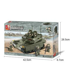 Sluban M38-B0305. Land Forces. Merkava Tank (344Pcs)