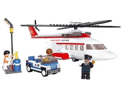 Sluban M38-B0363. Aviazione. Elicottero Privato 259 Pz - 2
