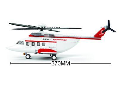 Sluban M38-B0363. Aviazione. Elicottero Privato 259 Pz - 13