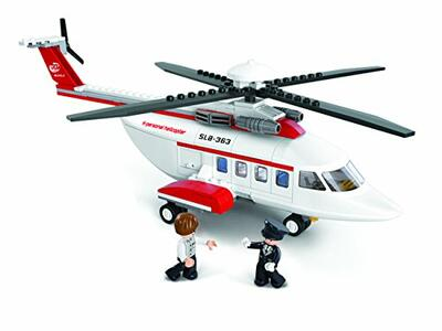 Sluban M38-B0363. Aviazione. Elicottero Privato 259 Pz - 5