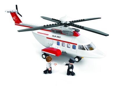 Sluban M38-B0363. Aviazione. Elicottero Privato 259 Pz - 10