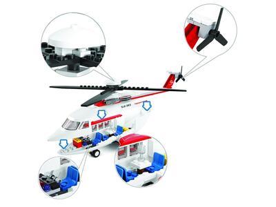 Sluban M38-B0363. Aviazione. Elicottero Privato 259 Pz - 12