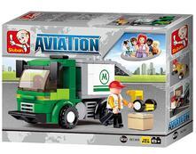 Aviazione. Camion Trasporto Aeroportuale 121 Pz. Sluban (M38-B0368)