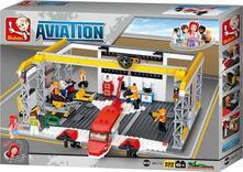 Sluban M38-B0372. Aviazione. Hangar 596 Pz