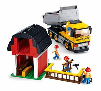 Sluban M38-B0552. Constructor. Camion Lavoro Cantiere 384 Pz