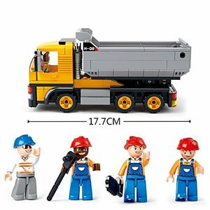 Sluban M38-B0552. Constructor. Camion Lavoro Cantiere 384 Pz - 5