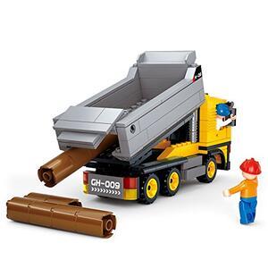 Sluban M38-B0552. Constructor. Camion Lavoro Cantiere 384 Pz - 6