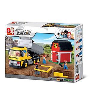Sluban M38-B0552. Constructor. Camion Lavoro Cantiere 384 Pz - 7