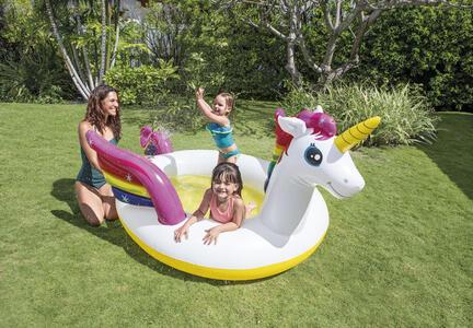 Piscina Kids Unicorno+Spruzzin - 4