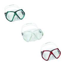 Bestway 22016 maschera per immersioni Bambini Vetro temperato Blu, Rosso, Giallo