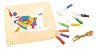 Giocattolo Monkey Business Sand Art Hape