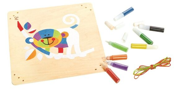 Giocattolo Monkey Business Sand Art Hape 0