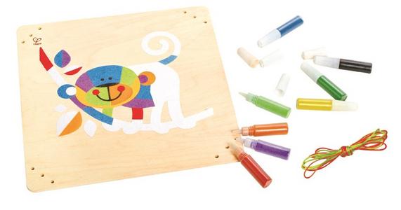 Giocattolo Monkey Business Sand Art Hape 0