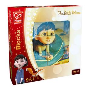 Giocattolo Puzzle Cubi Piccolo Principe 9 Pezzi Hape 0