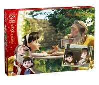 Giocattolo Puzzle Sharing 2 soggetti da 24 tessere Hape