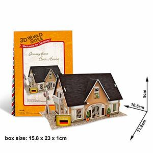 Puzzle 3D 42 Germany Flavor Beer House - 2