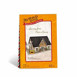 Puzzle 3D 42 Germany Flavor Beer House - 4