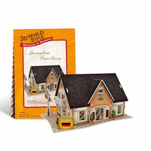 Puzzle 3D 42 Germany Flavor Beer House - 7