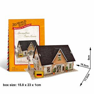 Puzzle 3D 42 Germany Flavor Beer House - 8