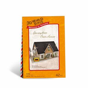 Puzzle 3D 42 Germany Flavor Beer House - 10