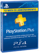 Sony PlayStation Network PS Plus Card 12 Mesi PS4 Brand