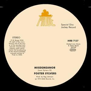 Misdemeanor - Vinile LP di Foster Sylvers
