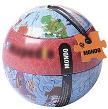 Mondo I Mappa Puzzle