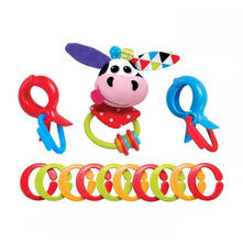 Clips, Rattle N Links-Cow