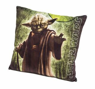 Cuscino in Velluto Star Wars. Yoda