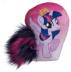 My Little Pony. Twilight Sparkle. Cuscino Con Coda In Peluche 30 Cm